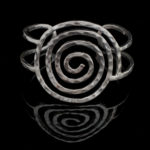 Celtic Spiral Bangle
