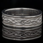 14kt. Gold Courage Knot Wedding Band