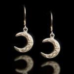 Celtic Moon Earrings