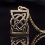 Courage Knot Pendant Small