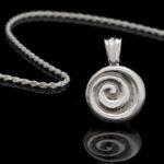 Heavy Celtic Spiral Medallion