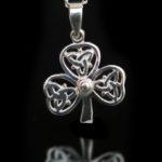 Shamrock Trinity Knot Pendant