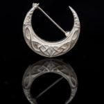 Sterling Silver Celtic Moon Brooch